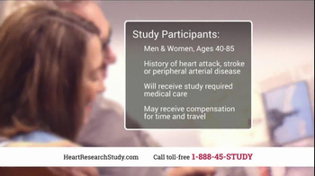 Heart Research Study TV Spot, 'Investigational Medication' - Thumbnail 7