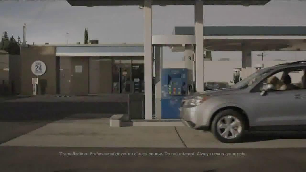 Subaru TV Spot, 'Dog Tested: Gas Station' - Screenshot 1