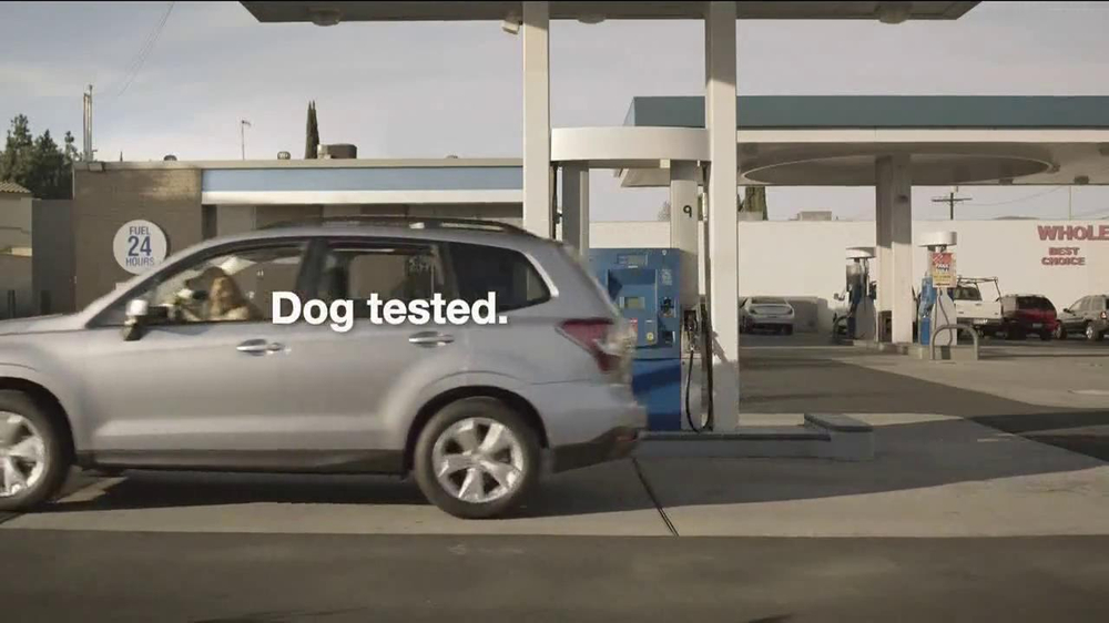 Subaru TV Spot, 'Dog Tested: Gas Station' - Screenshot 10