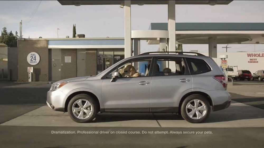 Subaru TV Spot, 'Dog Tested: Gas Station' - Screenshot 2
