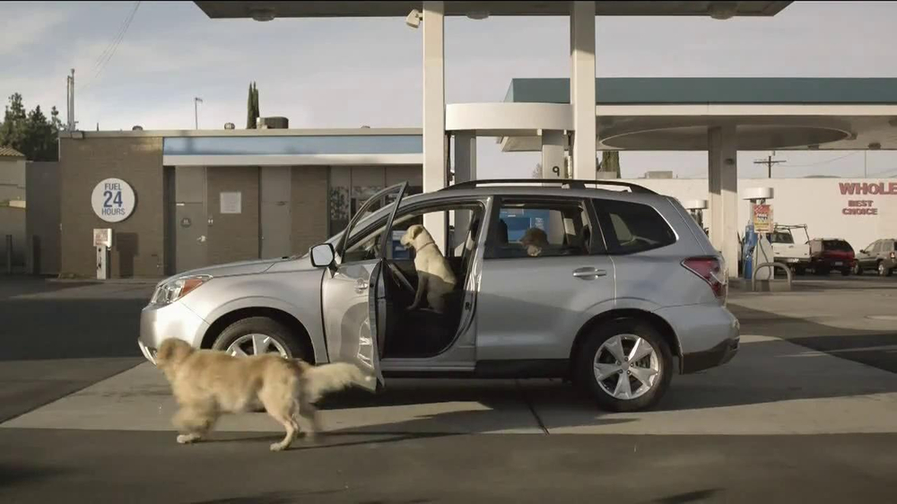 Subaru TV Spot, 'Dog Tested: Gas Station' - Screenshot 3