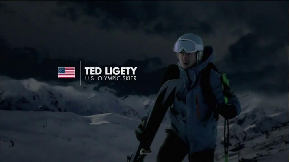 Vicks NyQuil TV Spot Featuring Ted Ligety - Screenshot 1