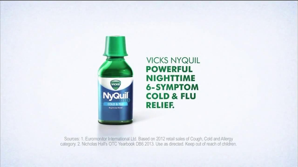 Vicks NyQuil TV Spot Featuring Ted Ligety