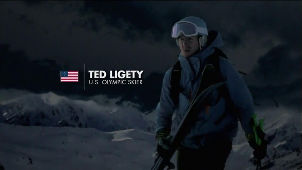 Vicks NyQuil TV Spot Featuring Ted Ligety - Screenshot 2