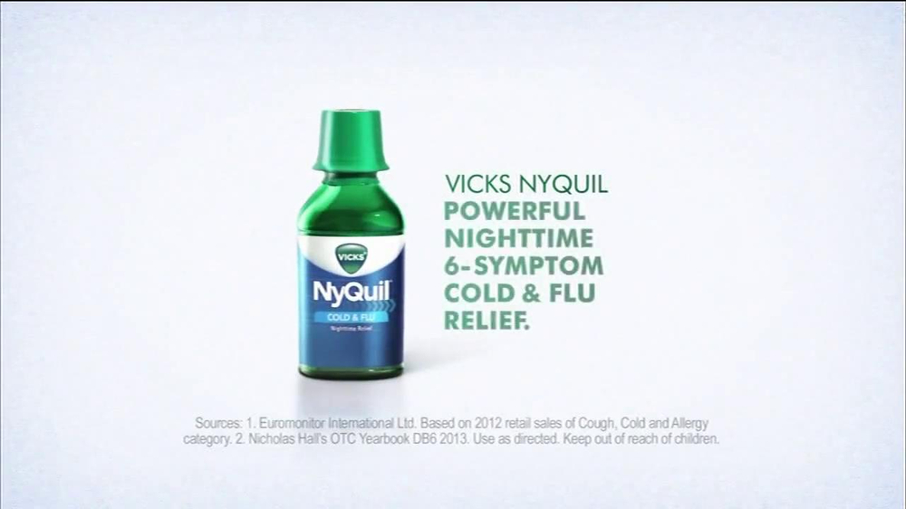 Vicks NyQuil TV Spot Featuring Ted Ligety - Screenshot 9