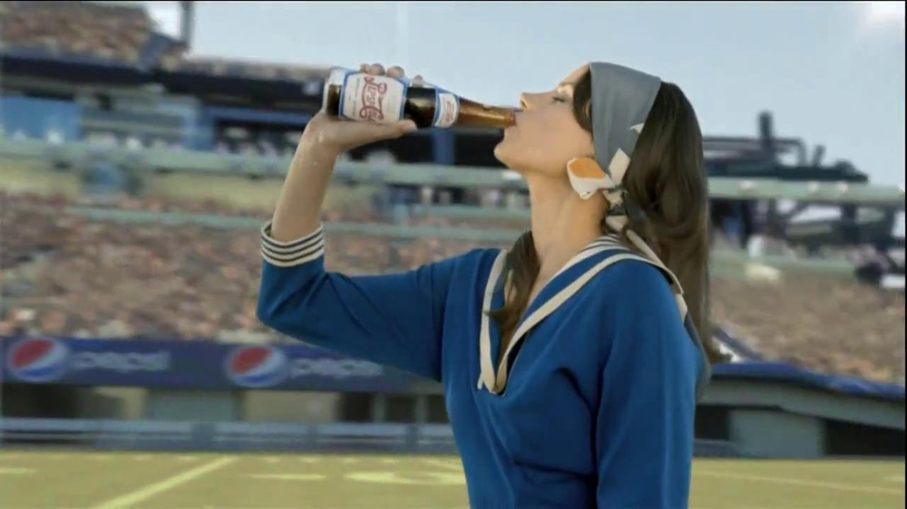 Pepsi TV Spot, 'There Since the First Halftime' - Screenshot 10