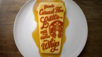 Starbucks Caramel Flan Latte TV Spot