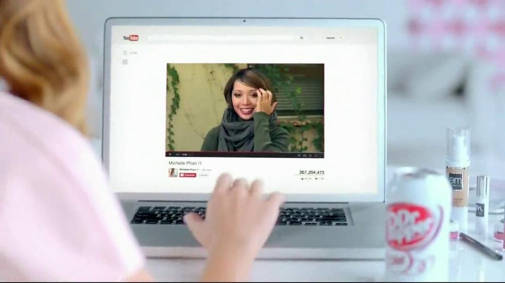 Dr Pepper Diet TV Spot, '/1' Featuring Michelle Phan, Song by Lenka - Screenshot 9
