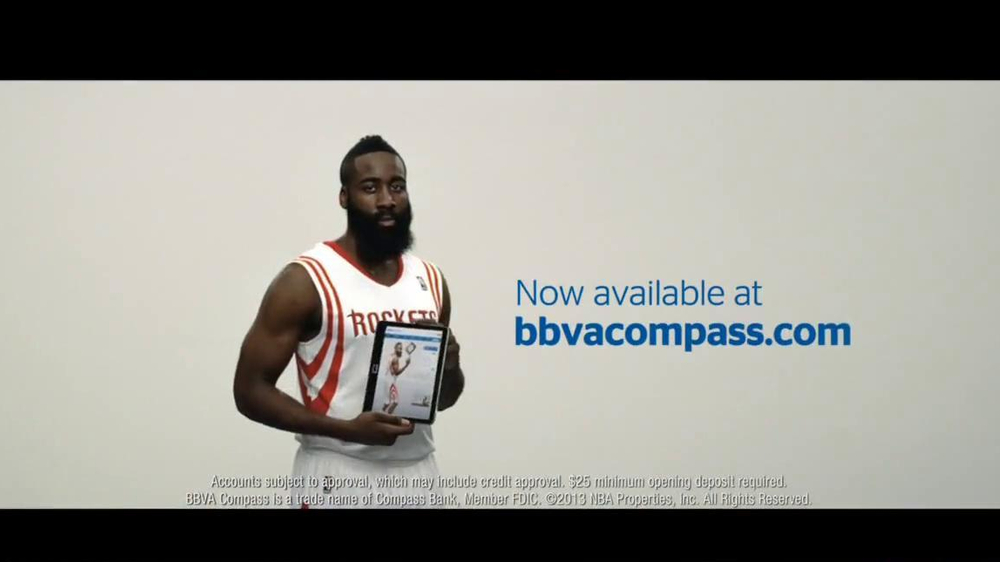 BBVA Compass TV Commercial, Featuring James Harden - iSpot.tv