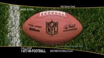 Big Time Footballs NFC Championship Ball TV Spot