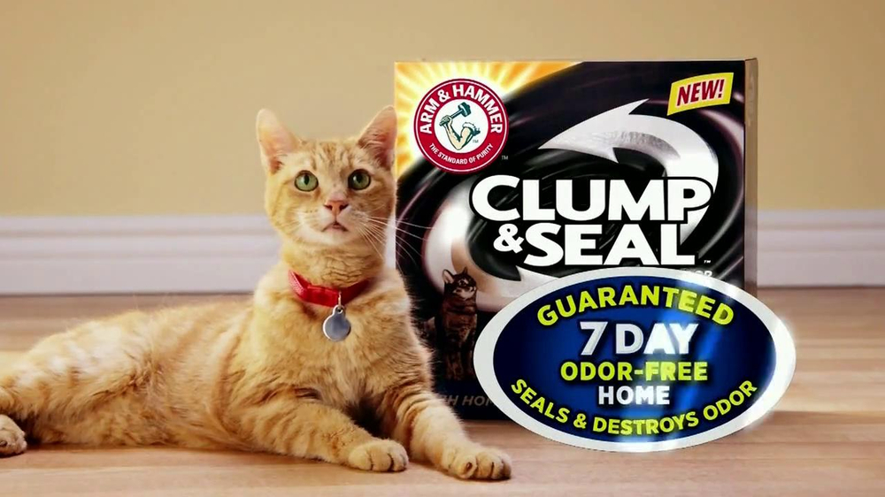 Arm and Hammer Clump & Seal TV Spot, 'Smell Test' - Screenshot 2