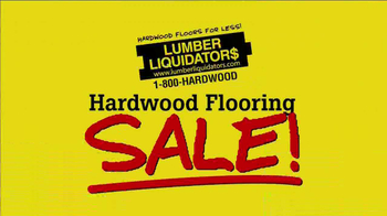 Lumber Liquidators March 2014 Hardwood Flooring TV Spot