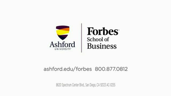 Ashford University Forbes School of Business TV Spot
