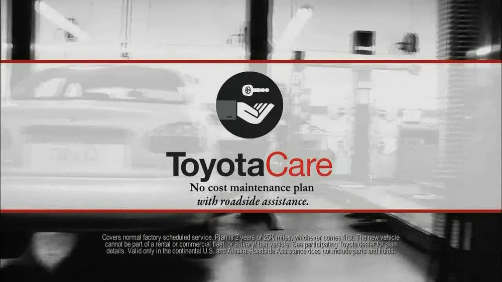 Toyota Brake Savings Event TV Spot, 'Toyota Care' - iSpot.tv