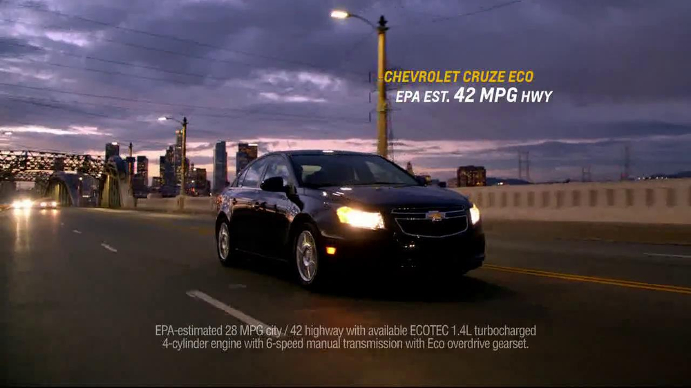 Chevrolet Cruze Eco TV Spot, 'Around the Country' - Screenshot 9