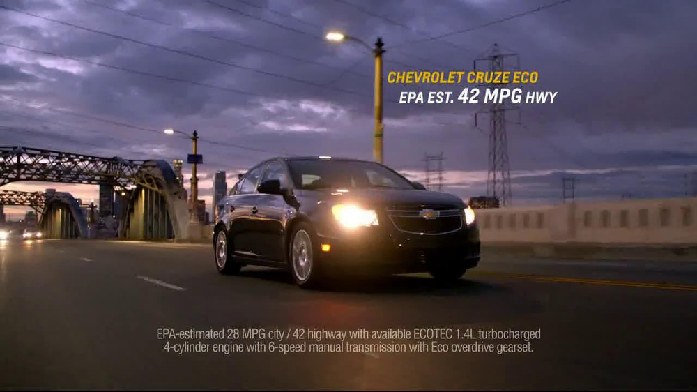 Chevrolet Cruze Eco TV Spot, 'Around the Country' - Screenshot 8