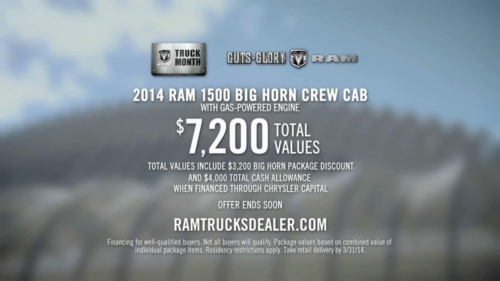 2014 Ram 1500 TV Spot, 'Modern Marvel' - Screenshot 10