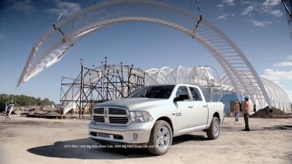 2014 Ram 1500 TV Spot, 'Modern Marvel' - Screenshot 2
