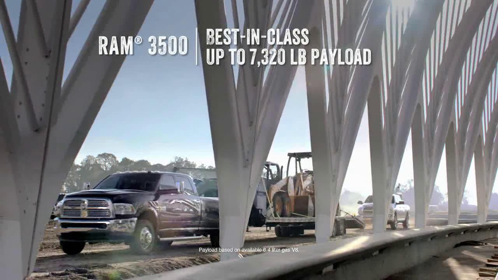 2014 Ram 1500 TV Spot, 'Modern Marvel' - Screenshot 6