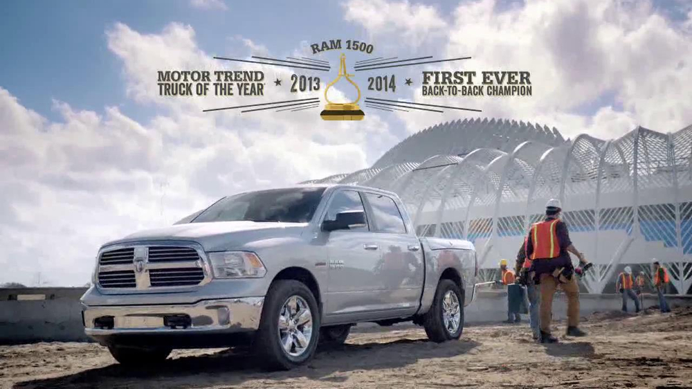 2014 Ram 1500 TV Spot, 'Modern Marvel' - Screenshot 8