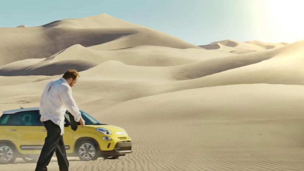 FIAT TV Spot, 'Mirage' Featuring Diddy, Song by Pharrell Williams - Screenshot 4