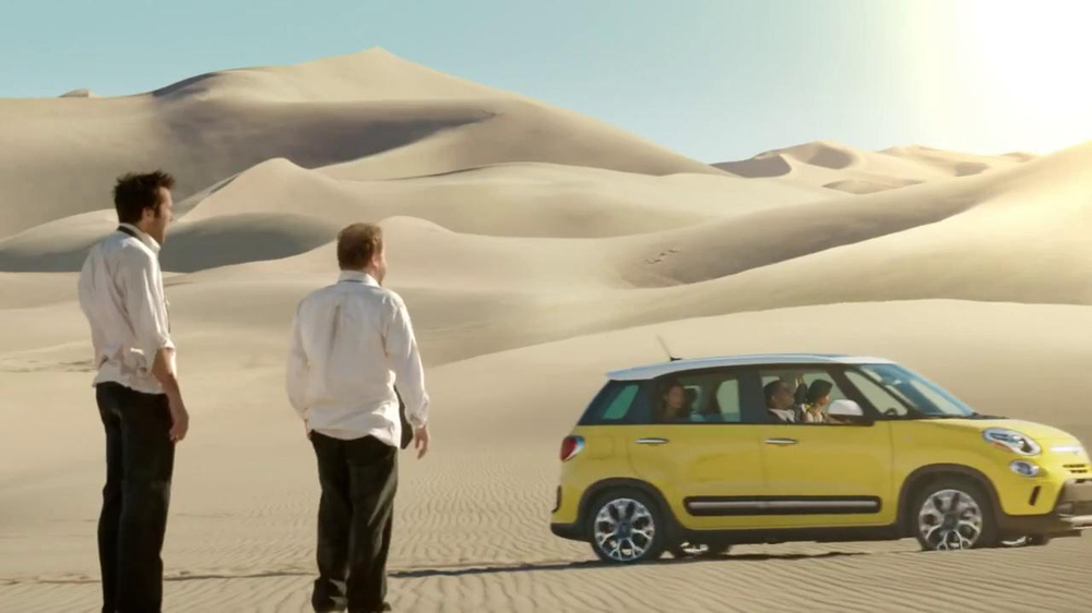 FIAT TV Spot, 'Mirage' Featuring Diddy, Song by Pharrell Williams - Screenshot 5