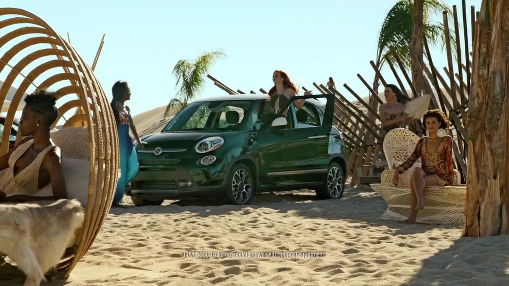 FIAT TV Spot, 'Mirage' Featuring Diddy, Song by Pharrell Williams - Screenshot 9