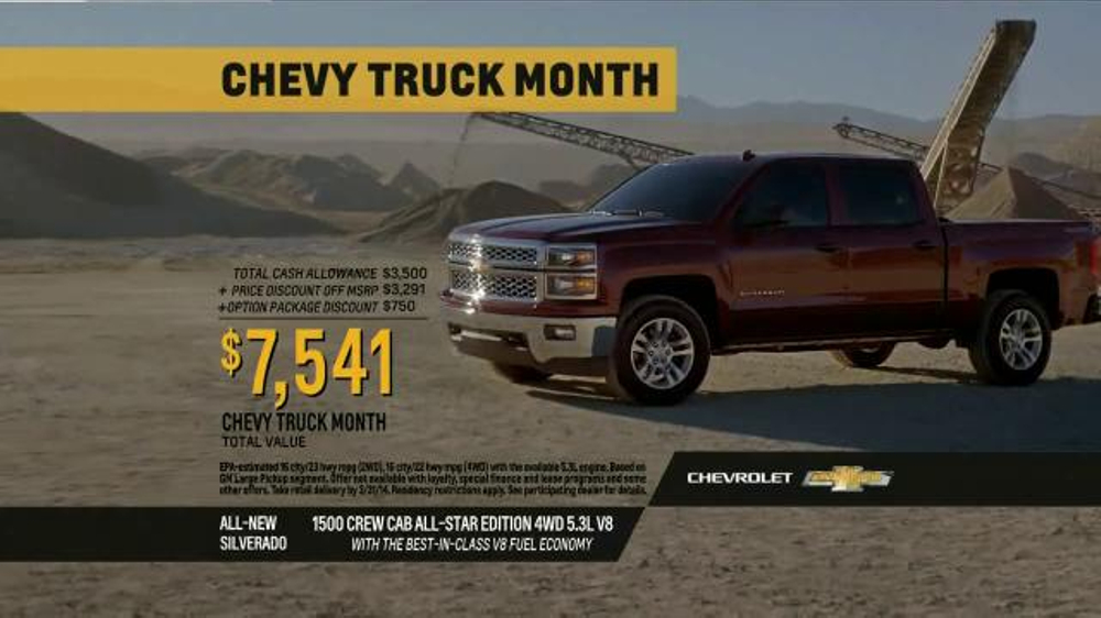 Chevy Truck Ads | 2017 - 2018 Best Cars Reviews