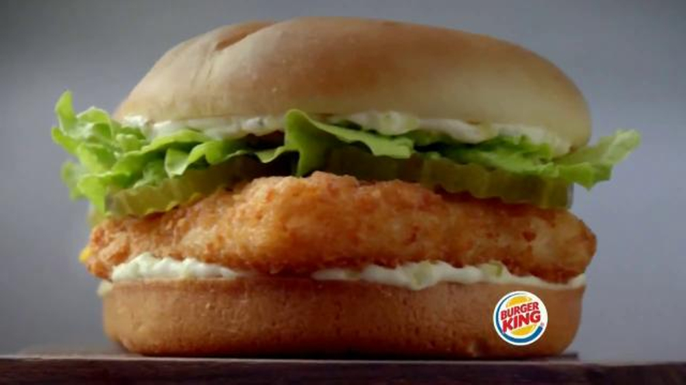 Burger king big fish tv spot 39 2 for 5 fishing season for Burger king big fish