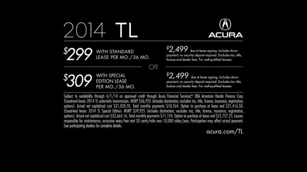2014 Acura TL-SE TV Spot, 'Best Kept Secret' - Screenshot 9
