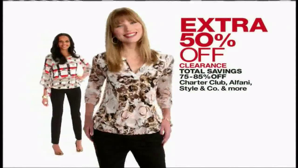 Macy's One Day Sale TV Spot, 'March 2014' thumbnail