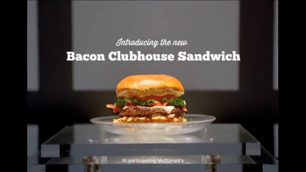 McDonald's Bacon Clubhouse TV Spot, 'The Club' Featuring LeBron James - Screenshot 7