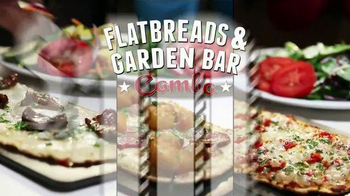 Ruby Tuesday Flatbreads & Garden Bar TV Spot