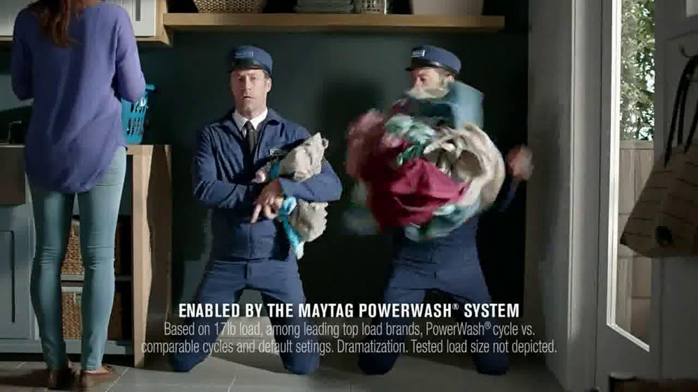 Maytag TV Spot, 'What's Inside: Washer' - Screenshot 6