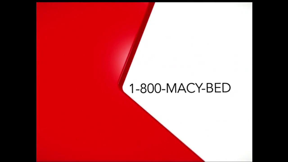 Macy's March 2014 One Day Sale Saturday TV Spot, 'Mattresses' - Screenshot 9