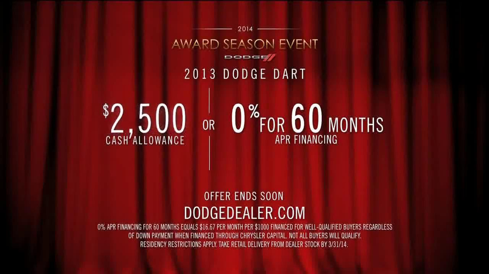 Dodge 2014 Award Season Event TV Spot Featuring Joan Rivers - Screenshot 10