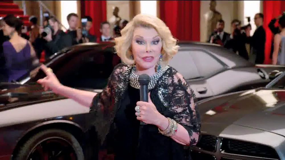 Dodge 2014 Award Season Event TV Spot Featuring Joan Rivers - Screenshot 2