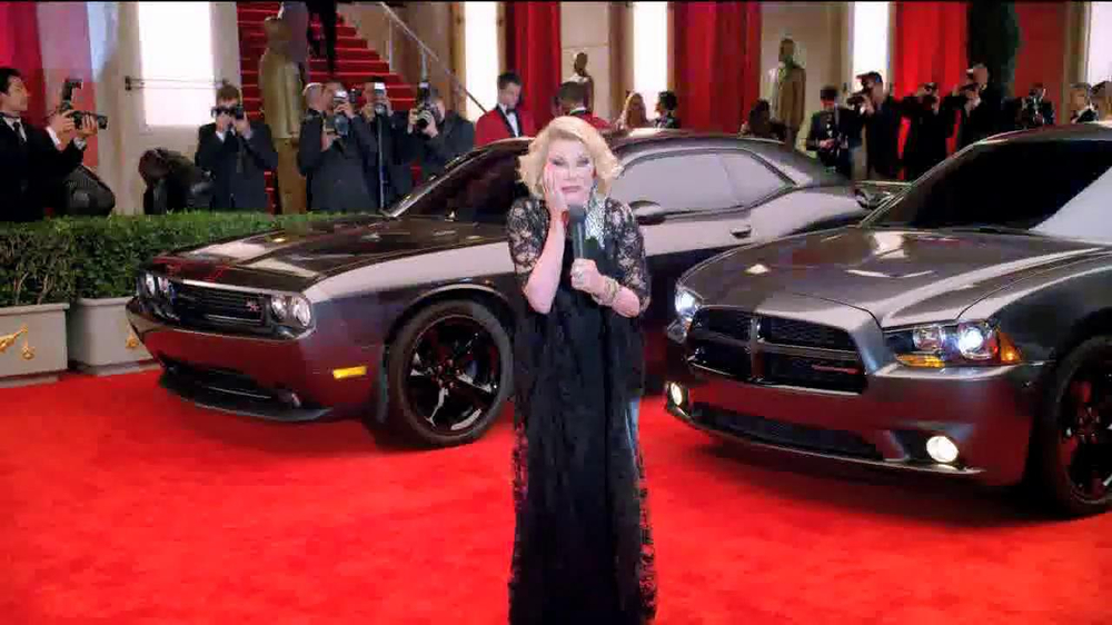 Dodge 2014 Award Season Event TV Spot Featuring Joan Rivers - Screenshot 6