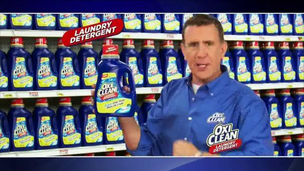 OxiClean TV Spot, '3 Stain Fighters' - 20567 commercial airings