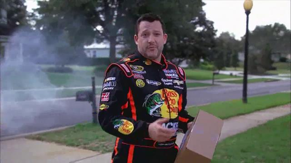 Bass Pro Shops TV Spot, 'Three Great Ways to Shop' Featuring Tony Stewart  - 1496 commercial airings
