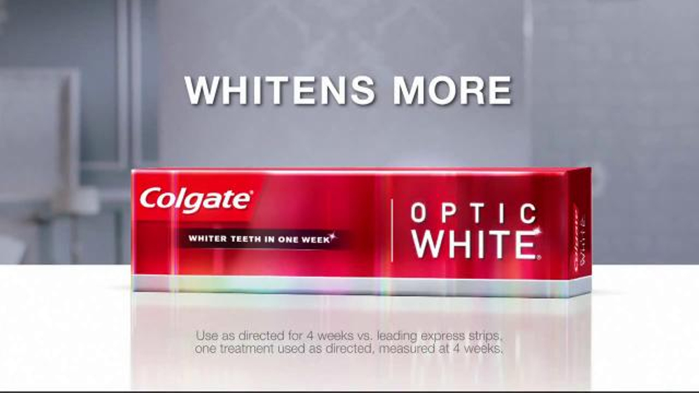 Colgate Optic White TV Spot, 'Accessories' - Screenshot 9