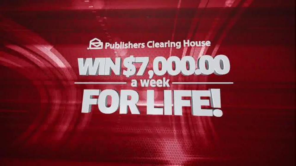 Publishers Clearinghouse TV Spot, 'Set For Life Prize' - Screenshot 3