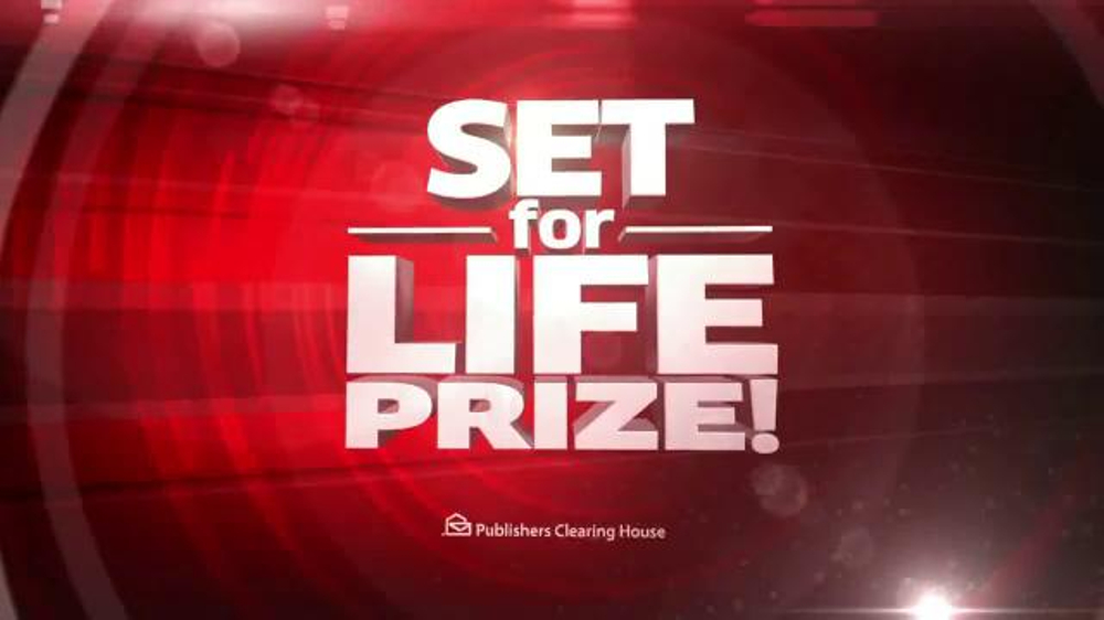 Publishers Clearinghouse TV Spot, 'Set For Life Prize' - Screenshot 5