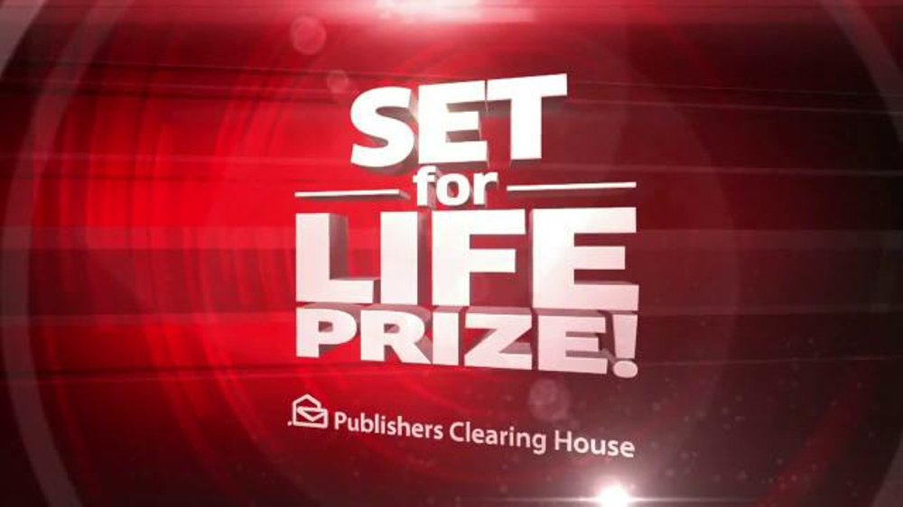 Publishers Clearinghouse TV Spot, 'Set For Life Prize' - Screenshot 6