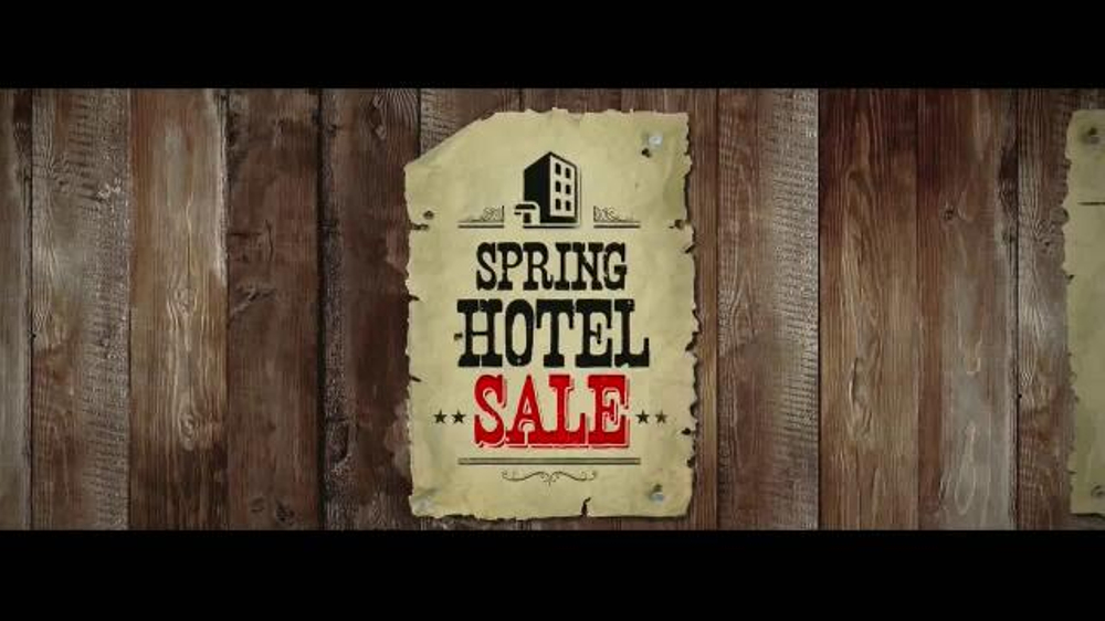 Priceline.com Spring Hotel Sale TV Spot, 'We Reckon' - Screenshot 7
