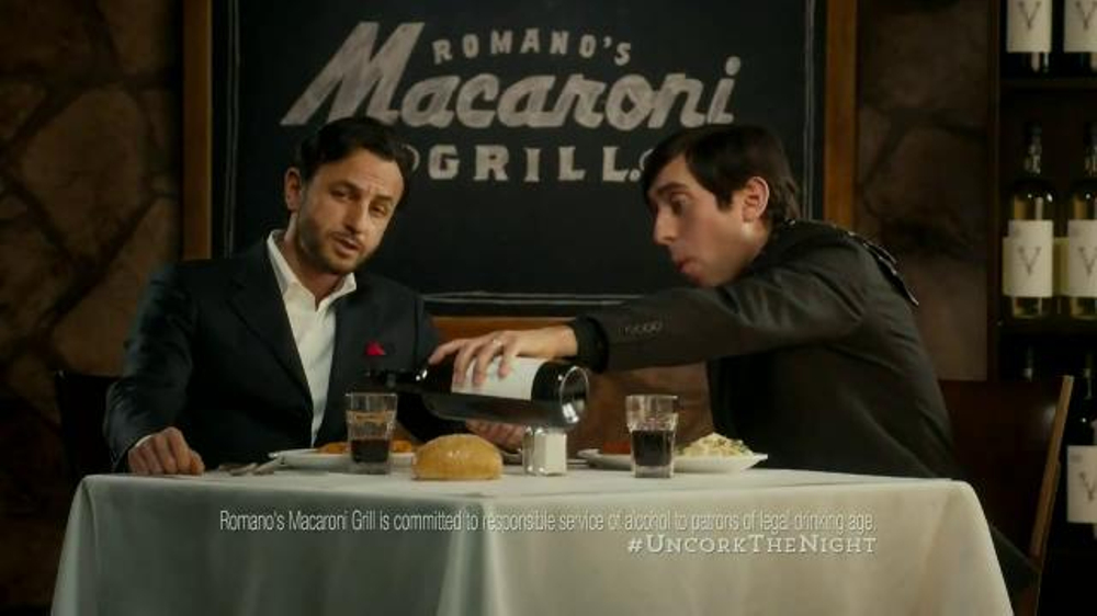 Romano's Macaroni Grill Original Recipe Chef's Tasting Menu TV Spot - Screenshot 4