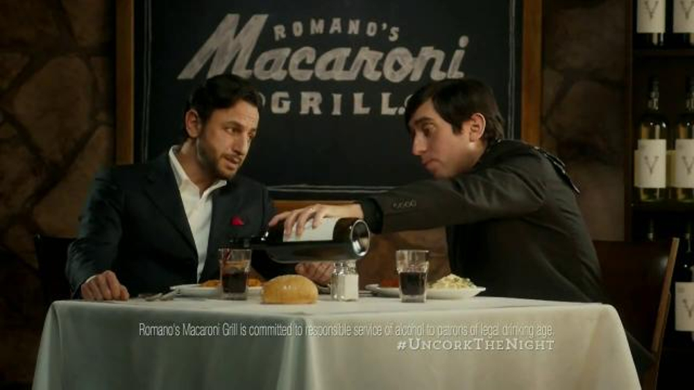 Romano's Macaroni Grill Original Recipe Chef's Tasting Menu TV Spot - Screenshot 5