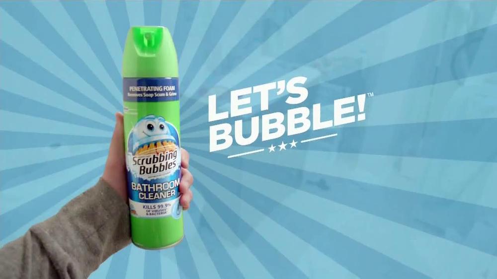 Scrubbing bubbles bathroom cleaner tv commercial 39 let 39 s for Commercial bathroom cleaner