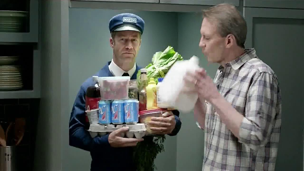Maytag TV Spot, 'Refrigerator Runnin'' - Screenshot 4