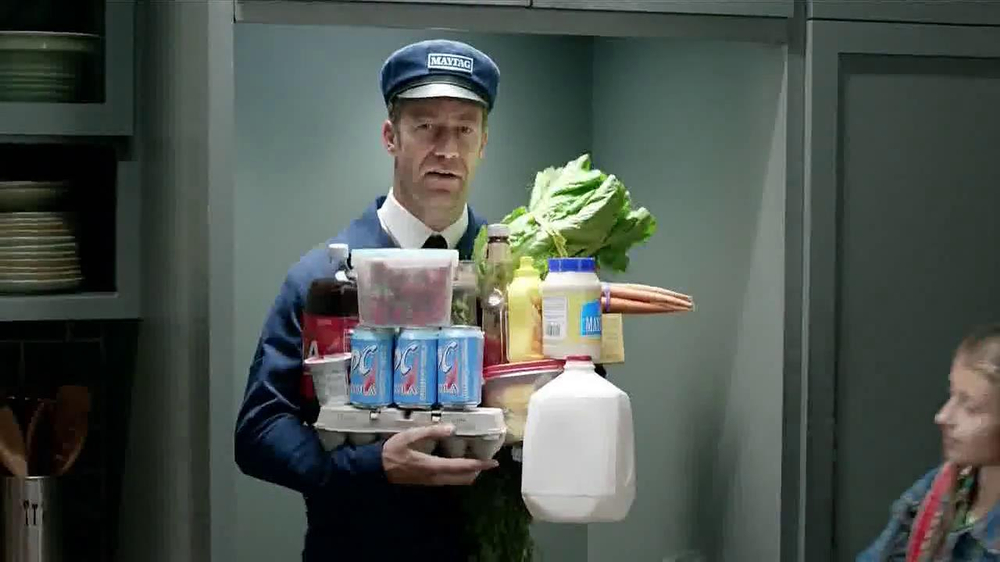 Maytag TV Spot, 'Refrigerator Runnin'' - Screenshot 6
